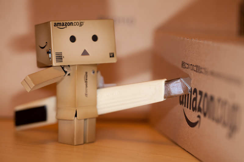 Danbo Caught in the act