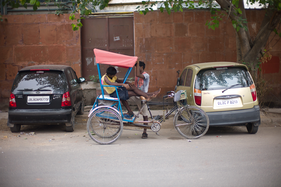 Bike in New Delhi