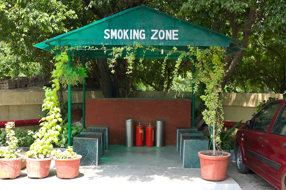 Smoking Zone in New Delhi