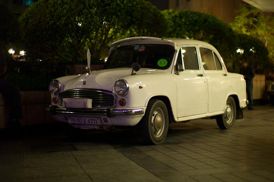 Taxi at Sheraton ITC Maurya