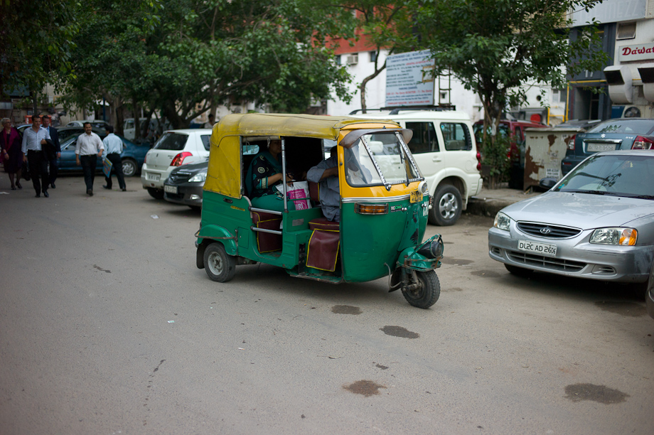 Tuk Tuk in New Delhi