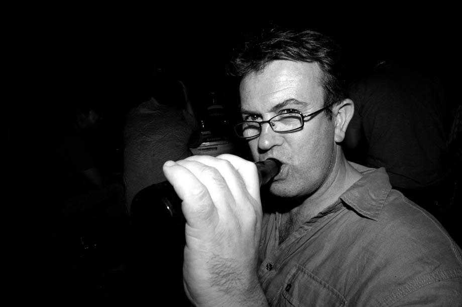 Drinking in Jiyugaoka