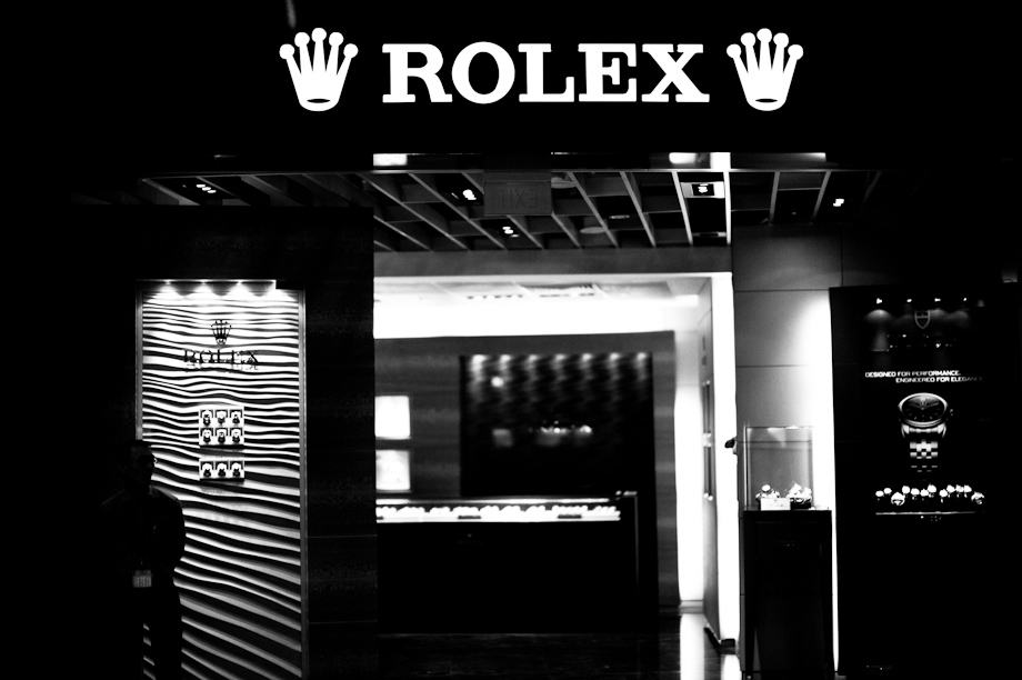 Rolex in Changhi Airport
