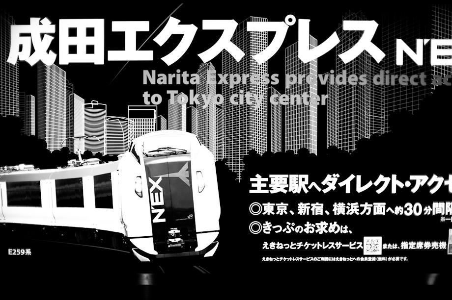 NEX Narita Express from Narita Airport to Tokyo