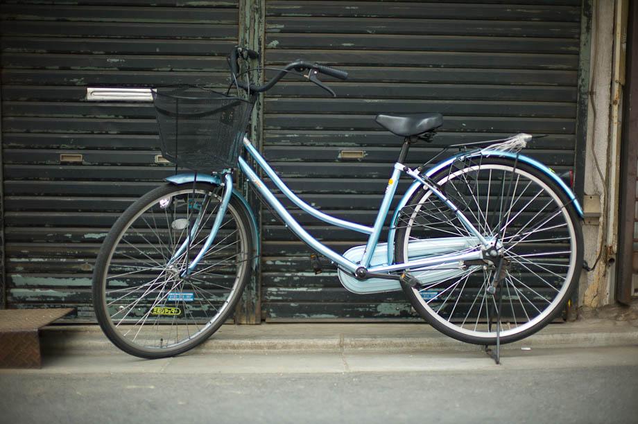 Bike in JIyugaoka