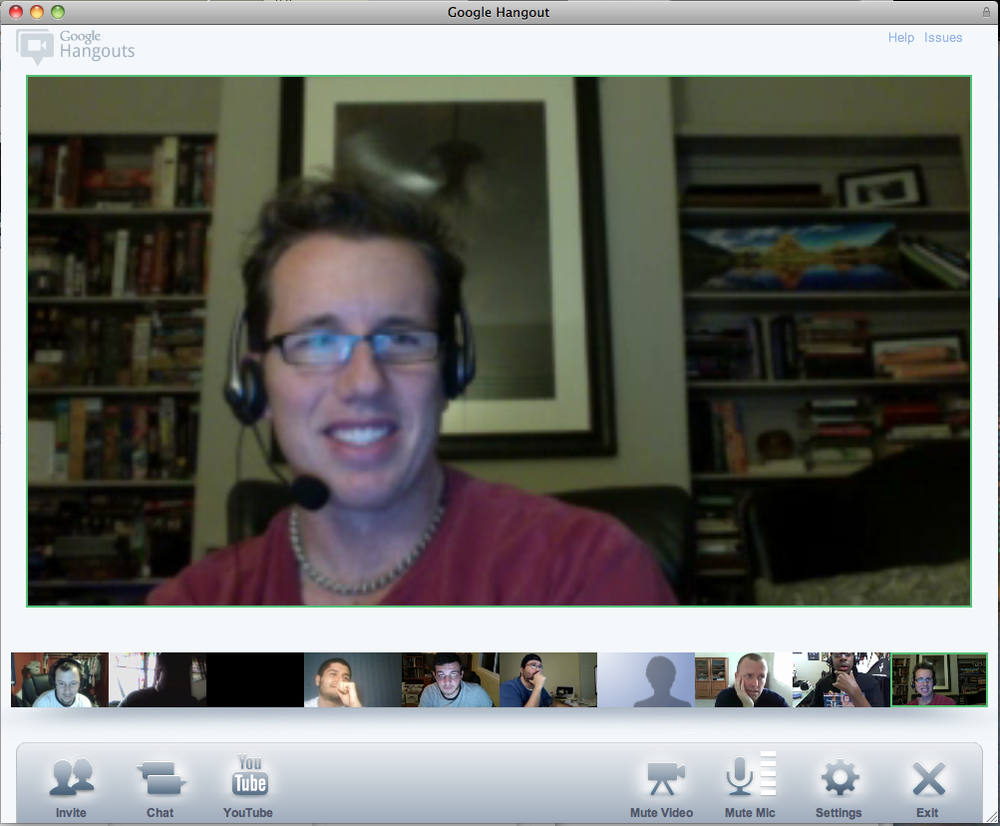 Google Plus Hangout with Trey Radcliff