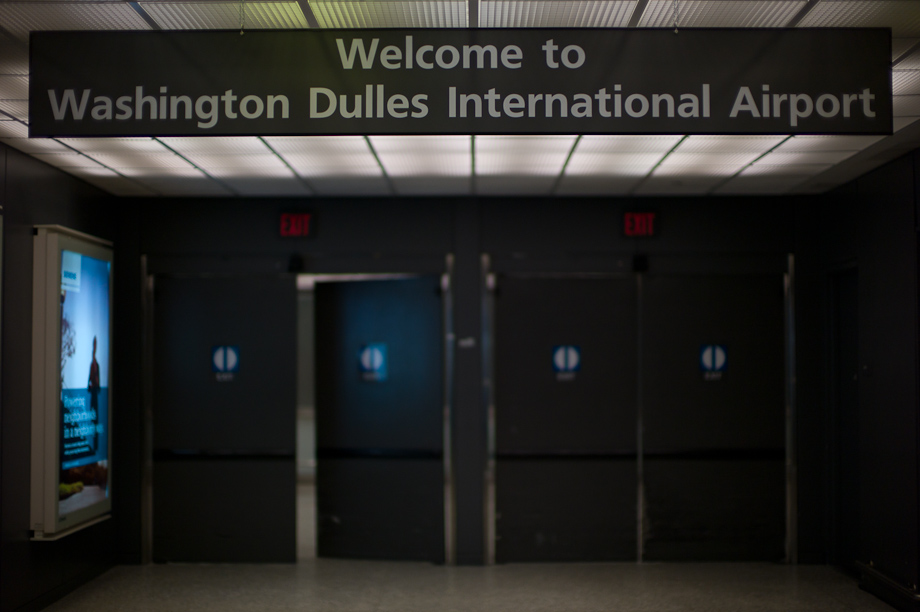 Welcome to Washington Dulles International Airport