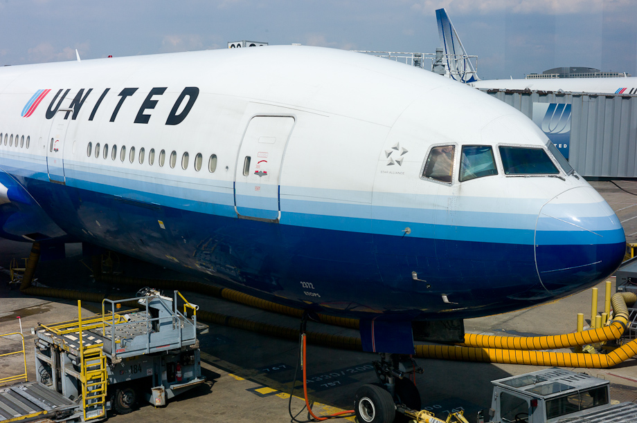 New United Continental Airplane