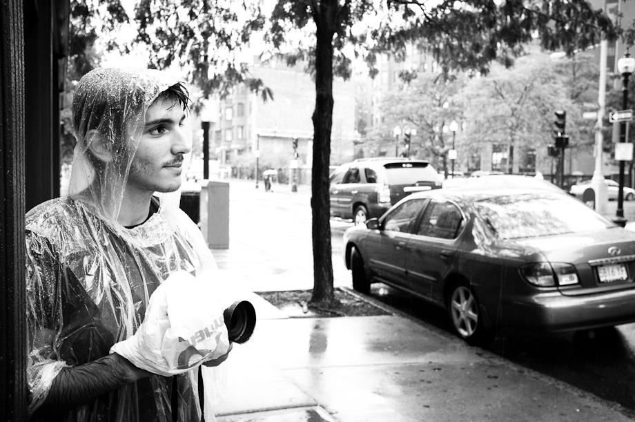 Rain Delay for Dave Powell's Photo Walk in Boston