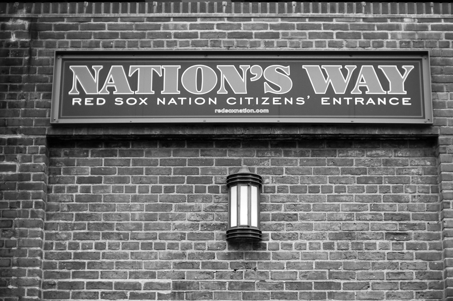 Nation's Way - Entrance for Fenway Park