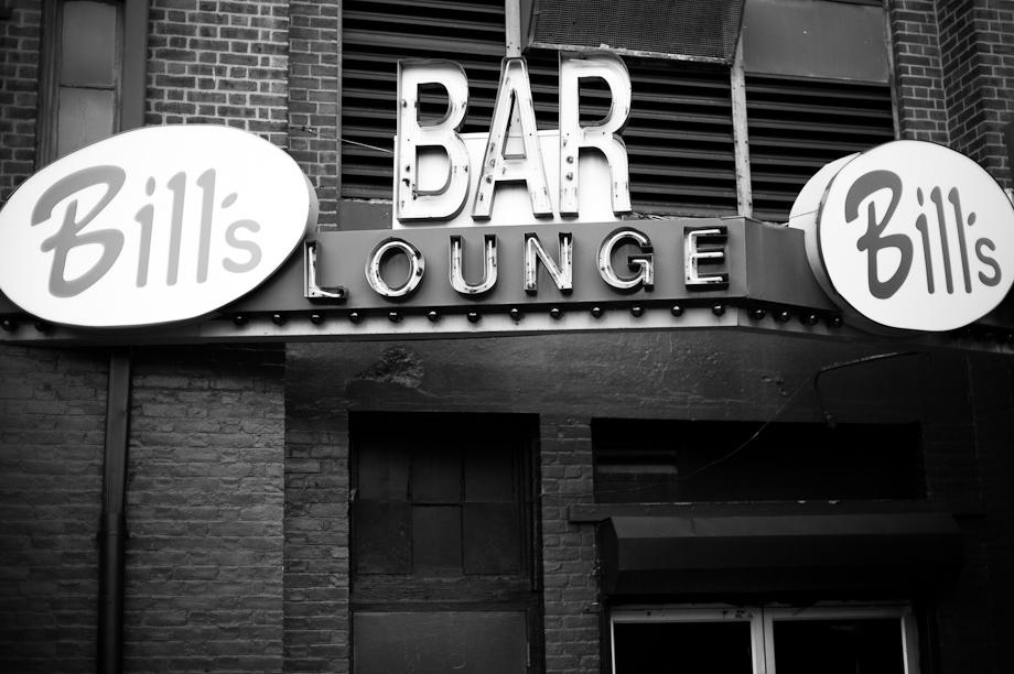 Bill's Bar Lounge in Boston