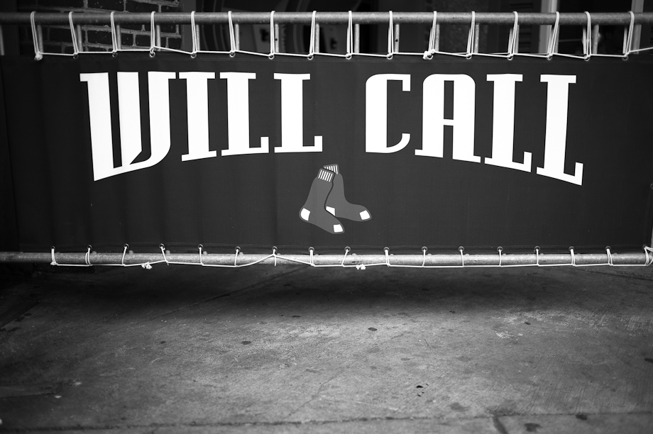 Will Call at Fenway Park in Boston