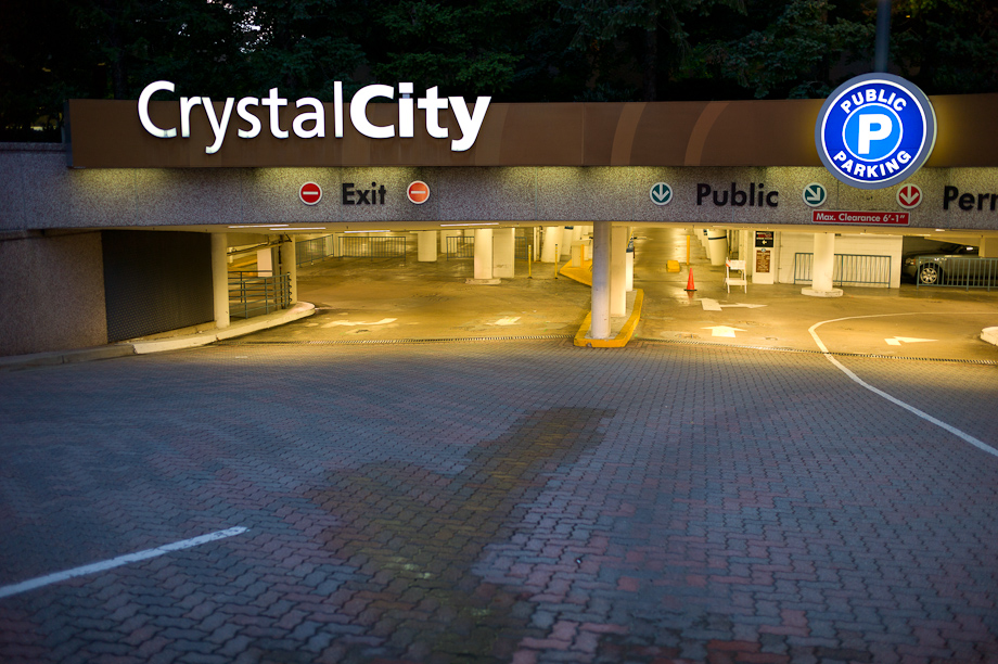 Crystal City in Arlington Va
