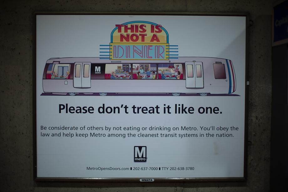 DC Metro Signs