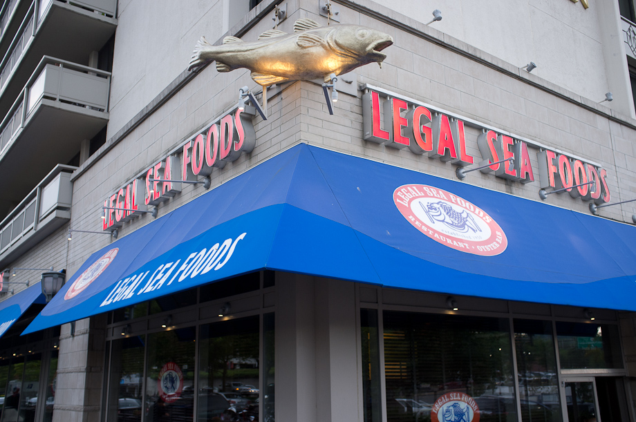 Legal Seafood in Arlington Va