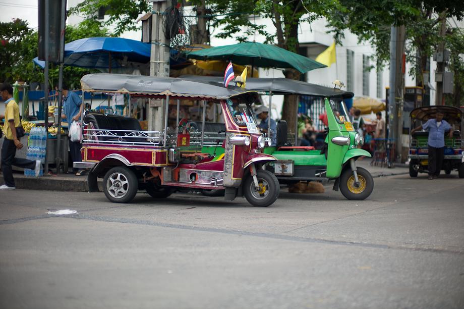 Tuk Tuk in Bangkok, Thailand