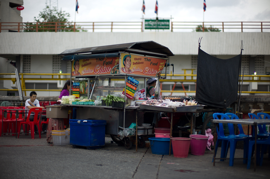 Street Food stalls in Bangkok