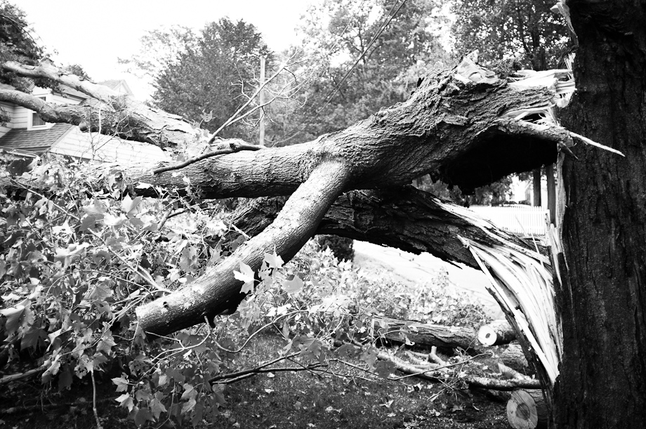 Hurrican Irene Damage