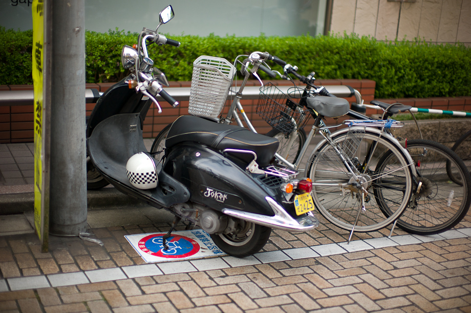 Bike Parking in Jiyugaoka