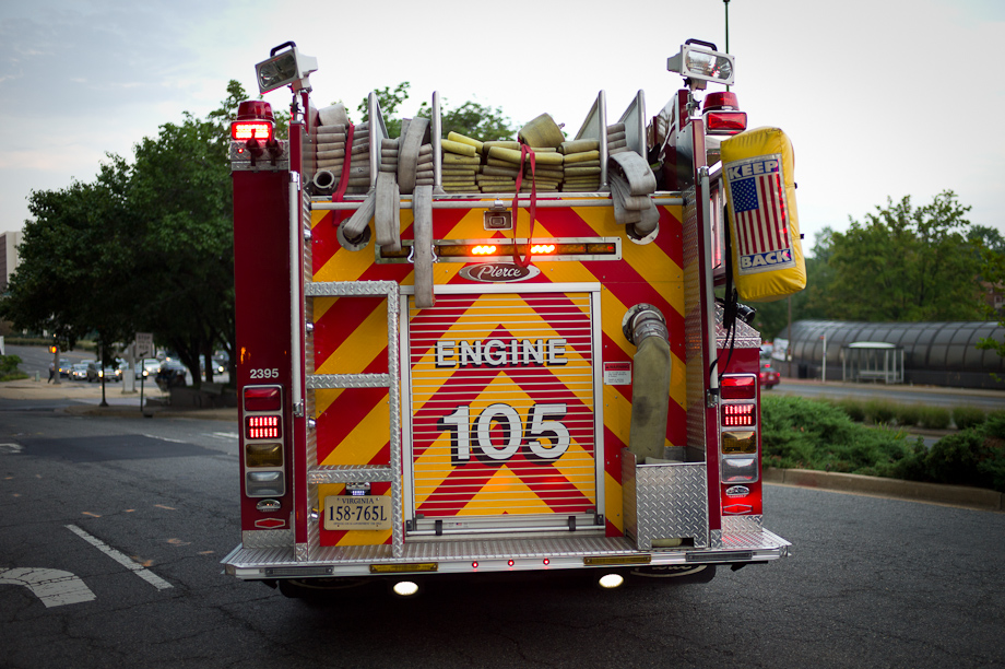 Firetruck in DC