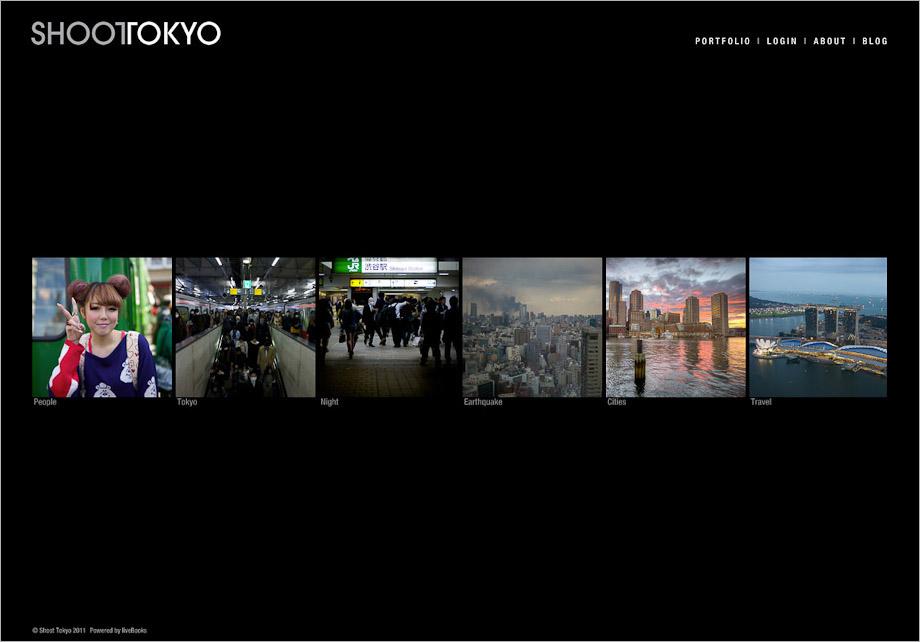 ShootTokyo's Portfolio Site