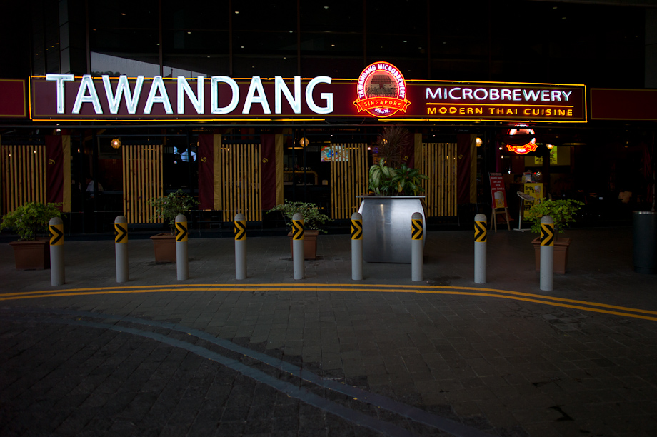 Wandang Micro Brewery in Singapore