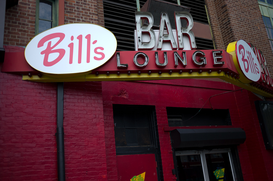 Bill's Bar and Lounge on Lansdowne Street