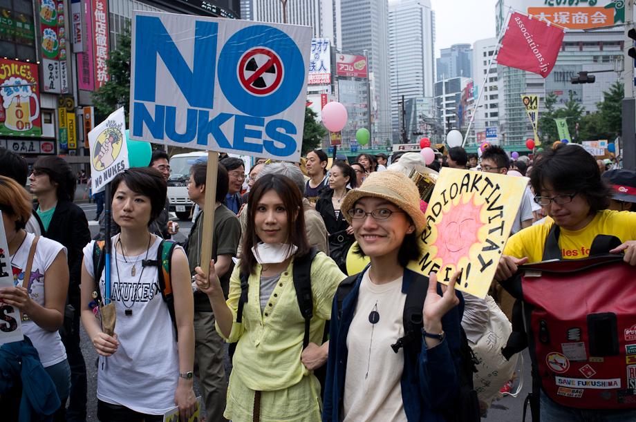 Anti Nuke Rally