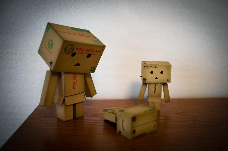 Amazon.co.jp Danbo and 711 Danbo