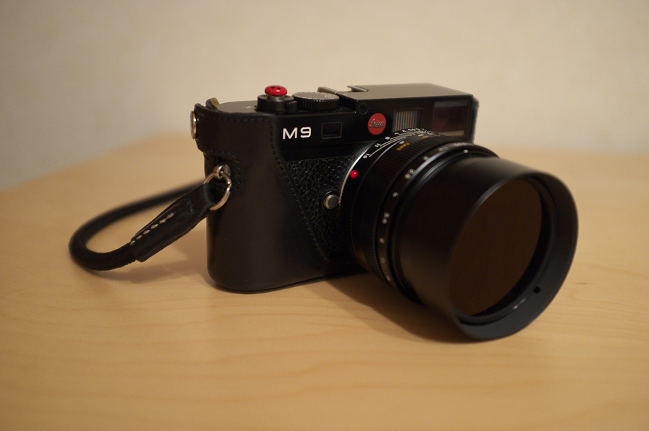 Leica M9 with a Noctilux 50mm f/0.95