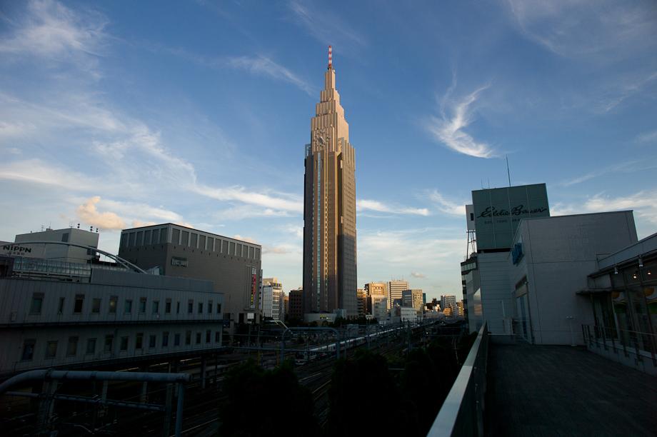 NTT DoCoMo Tower, Shinjuku, Tokyo, Japan