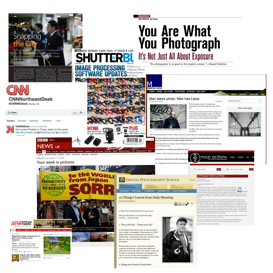 Shoot Tokyo in the Media