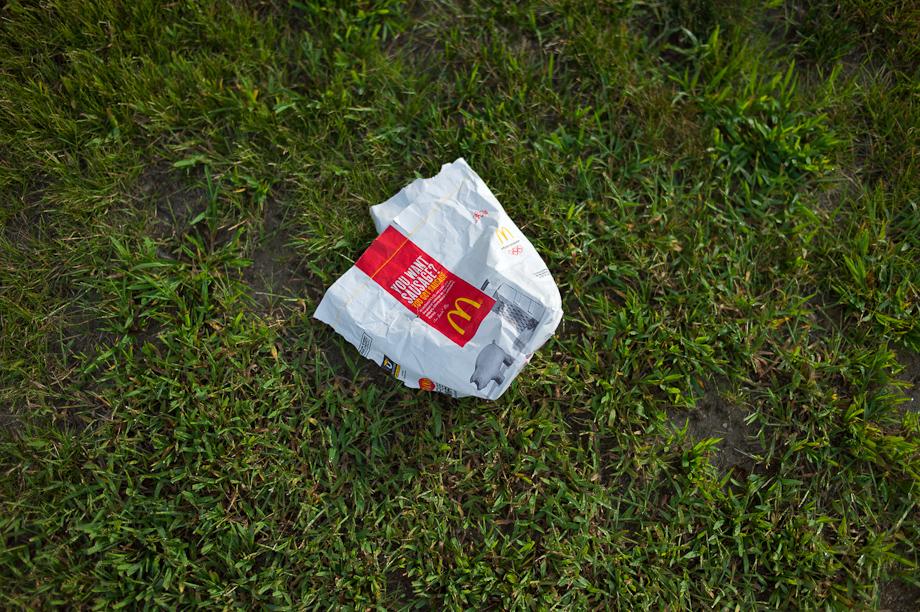 McDonald's Trash