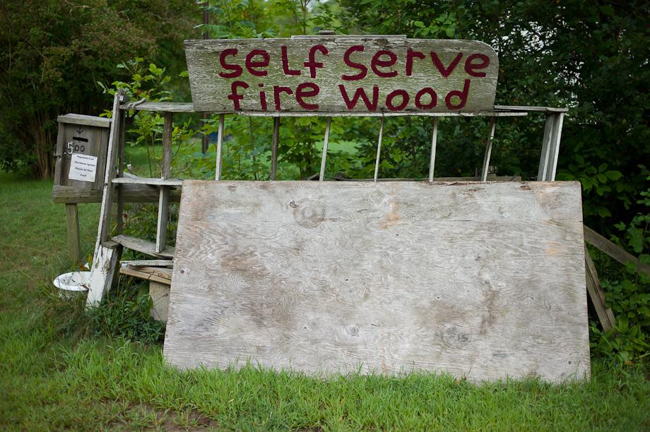 Self Service Fire Wood