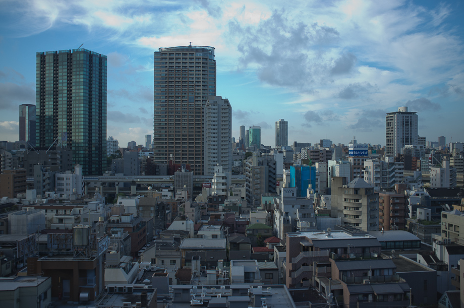 View from the Tokyo American Club