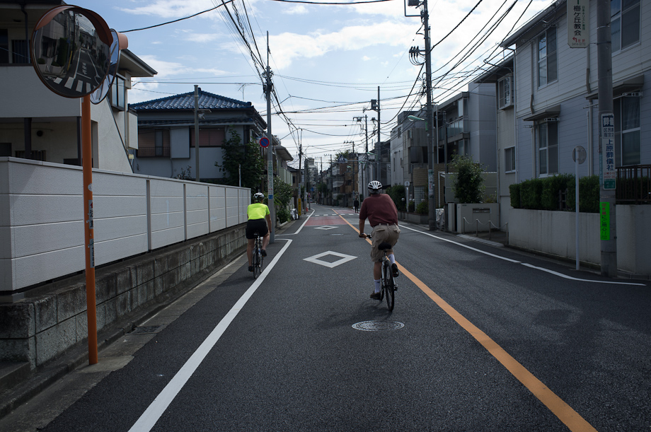 Riding with Tokyo Cranks