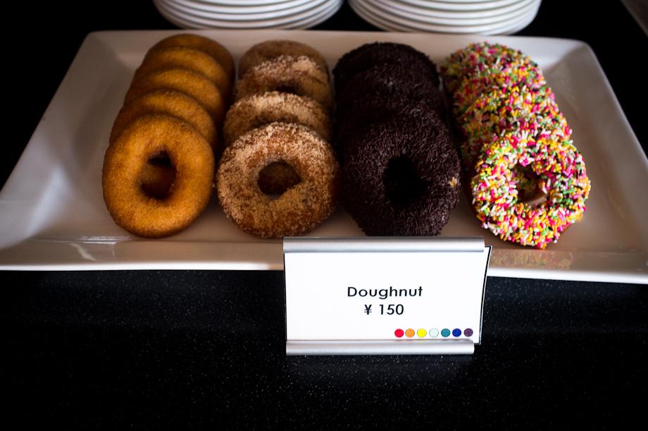 Donuts at Tokyo American Club