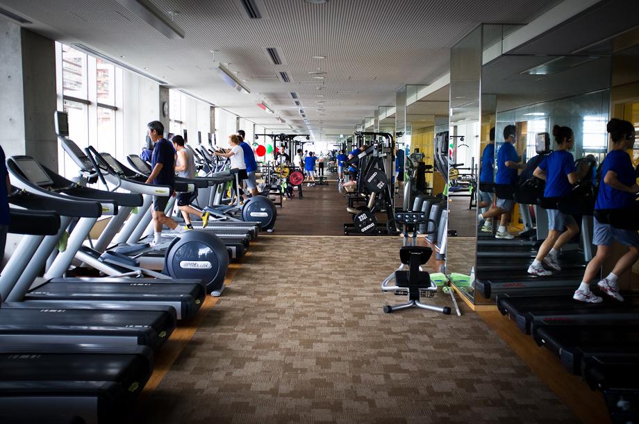 Gym at Tokyo American Club