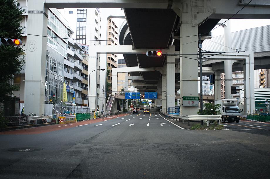 Empty Streets in Tokyo