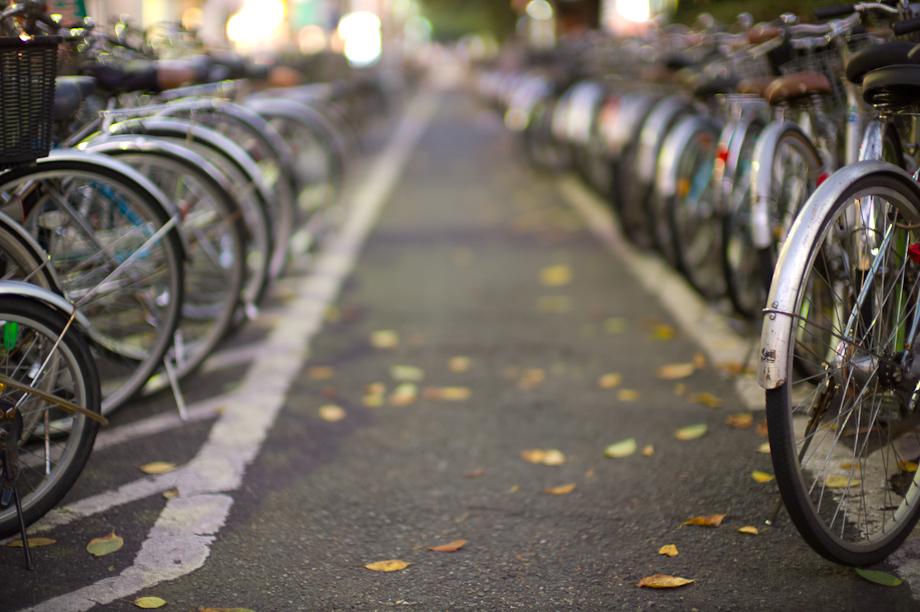 Toritsu Daigaku Bike Parking