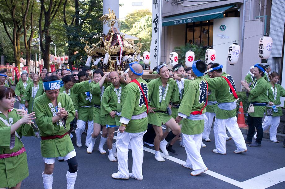 Matsuri Festival in Tokyo