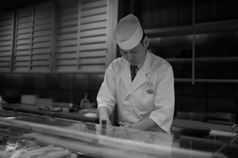 Sushi in Shibuya