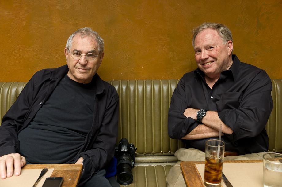 Richard Kashnow and Jay Maisel