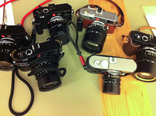 Lots of Leicas