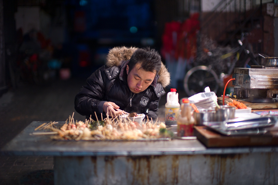 Street Cooking in Beijing