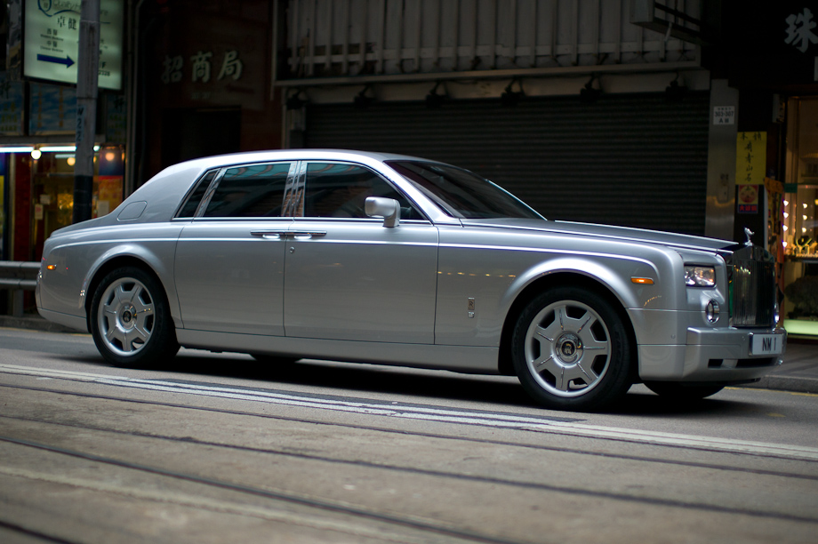 Rolls Royce in Hong Kong