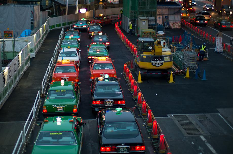 Shibuya Taxis