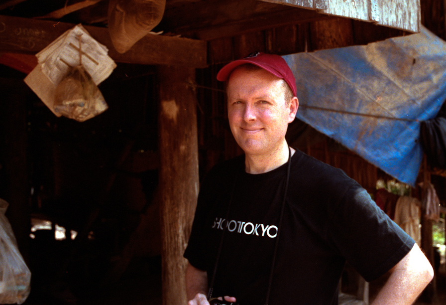 Dave on location in Cambodia