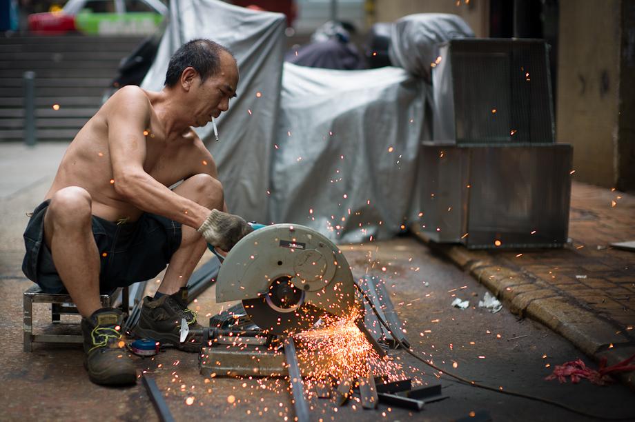 Metal Worker in Hong Kong