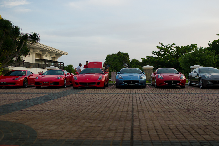 Parking at the Sentosa Country Club